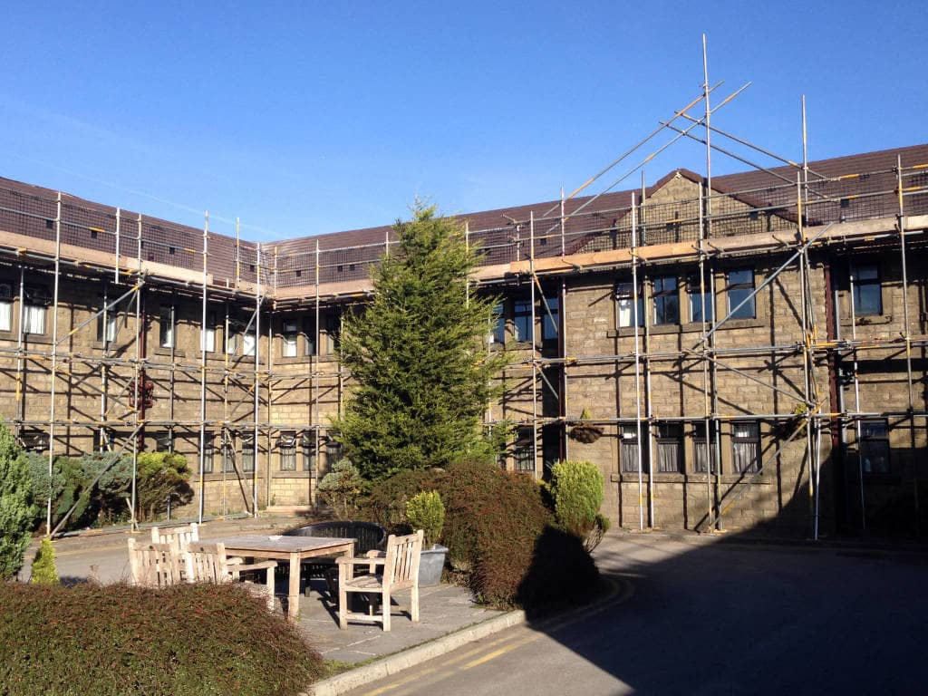 Commercial Scaffolding Care Home